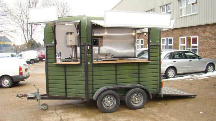 Trailer Food Truck Conversion